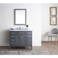 Danny Maple Grey 42-inch Single Bathroom Vanity Set
