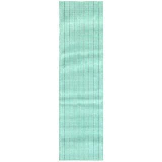 L and R Home Kessler Mint Green Indoor Runner Rug(2' x 8' ) - 2' x 8'
