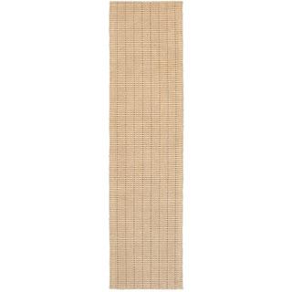 L and R Home Kessler Sandy Taupe Indoor Runner Rug(2' x 8' )
