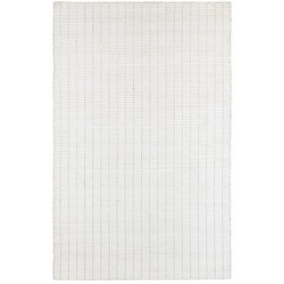 L and R Home Kessler Bright White Indoor Area Rug( 6' x 9' )