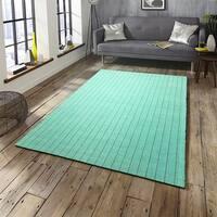 LR Home Kessler Mint Green Indoor Area Rug ( 6' x 9' ) - 6' x 9'
