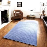 LR Home Kessler Grey Indoor Area Rug (5' x 7') - 5' x 7'