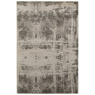 L and R Home Adana White/Beige Indoor area rug (7'9 x 9'10 )
