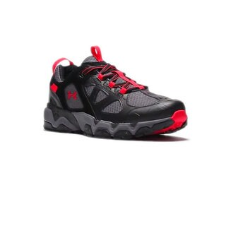 Under Armour Mirage 3.0 Men's Black, Red, and Grey Mesh Hiking Shoes