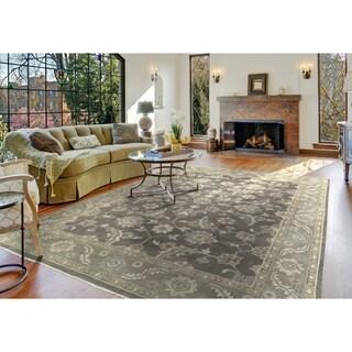 L and R Home Kareena Charcoal Indoor Area Rug (9' x 12')