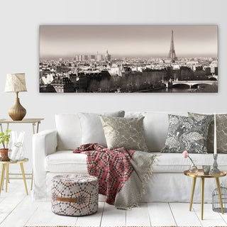 Wexford Home 'Paris View' Premium Gallery Wrapped Canvas Triptych