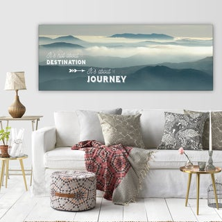 'The Journey' Premium Gallery-wrapped Canvas Art