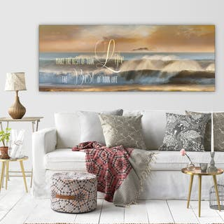 'Best of Your Life' Premium Gallery-wrapped Canvas Art (3 Sizes Available) https://ak1.ostkcdn.com/images/products/14307522/P20889566.jpg?impolicy=medium