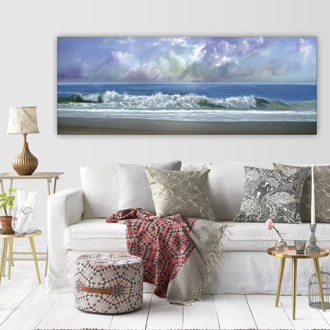 Wexford Home 'Watching the Clouds' Premium Gallery-wrapped Canvas Wall Art