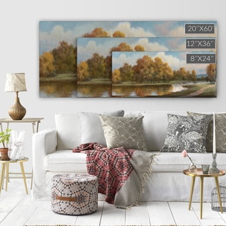 'Shenandoah II' Premium Gallery-wrapped Canvas Art (3 Sizes Available)