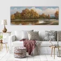 'Shenandoah I' Premium Gallery-wrapped Canvas Art - 3 Sizes Available