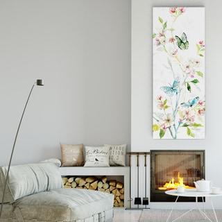Asbury Garden 'Spring Morning II' Multicolored Gallery Wrapped Canvas Artwork