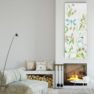Carol Robinson's 'Asbury Garden Spring Morning I' Premium Gallery Wrapped Canvas Artwork (3 Sizes Available)