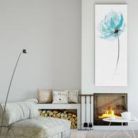 Carol Robinson 'Quiet Contemplation II' Premium Gallery-wrapped Canvas Wall Art