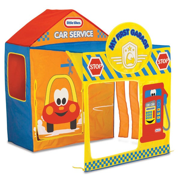 Shop Little Tikes Garage Play Tent Free Shipping Today Overstock