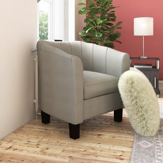 Dorel Living Evelyn Grey Chair