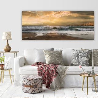 Wexford Home 'New Dawn' Multicolored Gallery Wrapped Canvas Premium Artwork (3 Sizes Available)