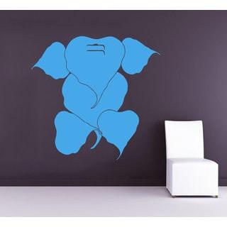 Ganesha Lord Wall Decals Indian Elephant Yoga Gym Wall Decor Art Mural Animals Sticker Decal size 22