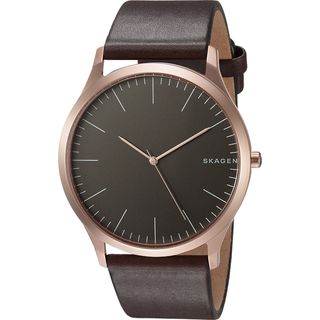 Skagen Men's SKW6330 'Jorn' Brown Leather Watch