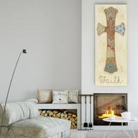 Janet Brignola-Tava 'Faith' Premium Gallery-wrapped Canvas Art (3 Sizes Available)