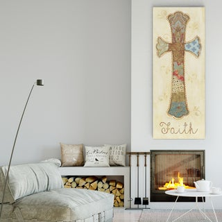 Janet Brignola-Tava 'Faith' Premium Gallery-wrapped Canvas Art (3 Sizes Available)