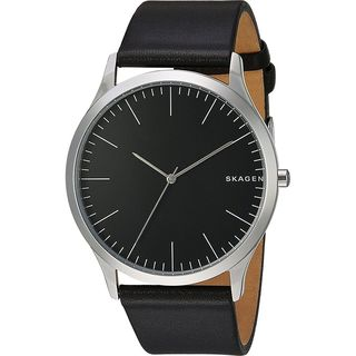 Skagen Men's SKW6329 'Jorn' Black Leather Watch