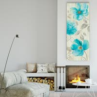 Wexford Home 'Blue Garden I' Gallery Wrapped Canvas Artwork
