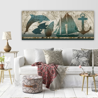 Conrad Knutsen 'To the Sea' Premium Gallery-wrapped Canvas Art (3 Sizes Available)