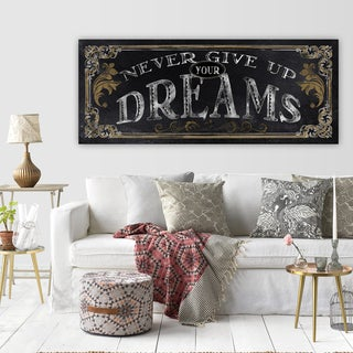 Wexford Home 'Dreams' Premium Gallery-Wrapped Canvas Wall Art