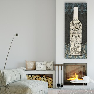 Wexford Home 'Wine Collection I' Multicolored Gallery Wrapped Canvas Artwork (3 Sizes Available)