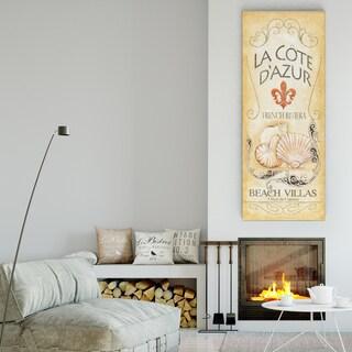 Wexford Home 'La Cote D'Azur' Premium Gallery-wrapped Canvas Artwork