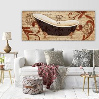 'Renaissance Bath I' Premium Gallery-wrapped Canvas