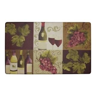 "Chef Gear Wellness Wine Anti-Fatigue Gelness ComfortChef Mat (1'5"" x 2'5"")"