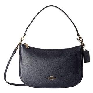 Coach Chelsea Navy Leather Crossbody Handbag