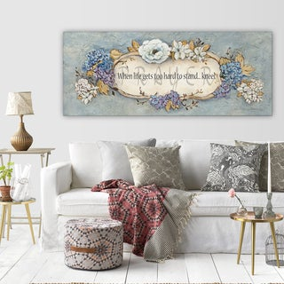 Wexford Home 'Prayer' 3 Sizes Available Premium Gallery Wrapped Canvas
