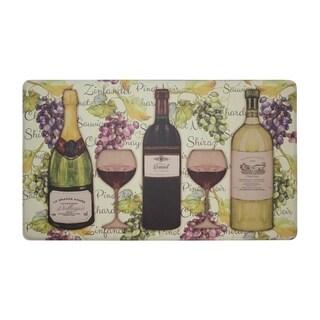 "Chef Gear Wine Tasting Anti-Fatigue Gelness ComfortChef Mat (1'5"" x 2'5"")"
