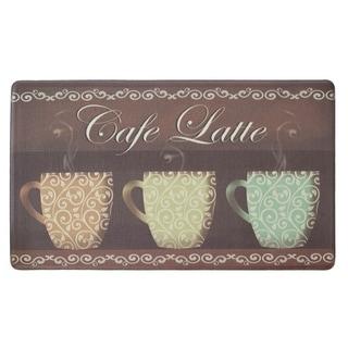 "Chef Gear Cafe Latte Anti-Fatigue Gelness ComfortChef Mat (1'5"" x 2'5"")"