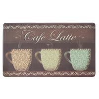 "Chef Gear Cafe Latte Anti-Fatigue Gelness Comfort Chef Mat - café latte - 1'5"" x 2'5"""