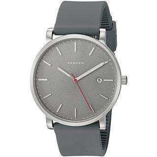 Skagen Women's SKW6344 'Hagen' Grey Silicone Watch