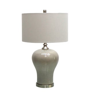 28.5-inch Table Lamp with Ceramic Base