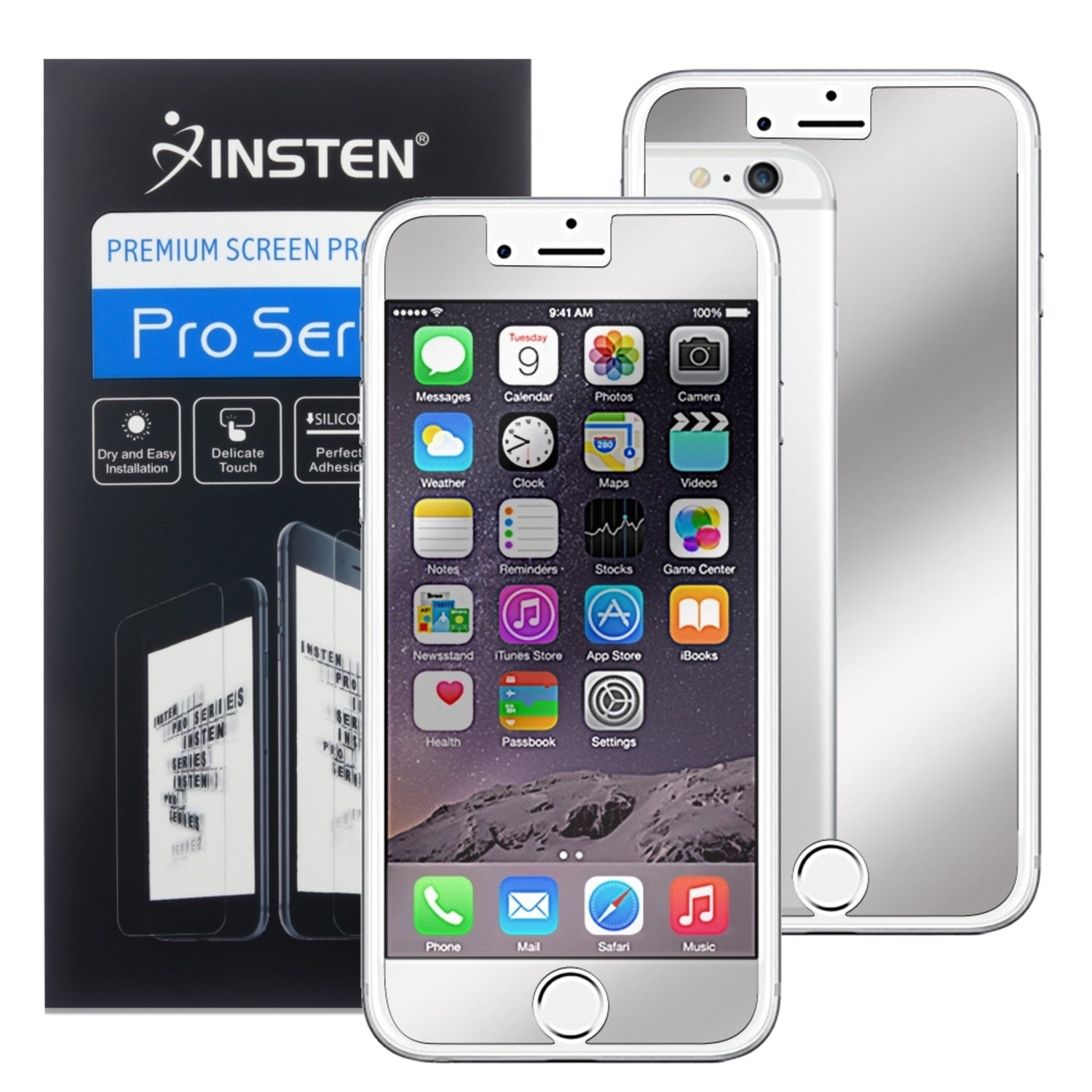 Insten Mirror LCD Screen Protector Film Cover For Apple i...