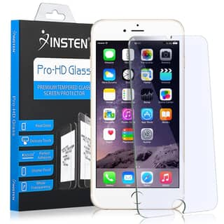 Insten Clear Tempered Glass LCD Screen Protector Film Cover For Apple iPhone 7 Plus|https://ak1.ostkcdn.com/images/products/14308400/P20890357.jpg?impolicy=medium