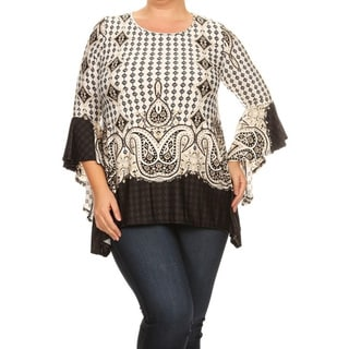 Women's Plus-size Paisley Tapestry Tunic