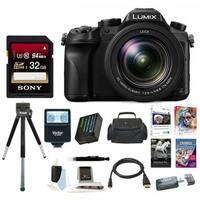 Panasonic LUMIX DMC-FZ2500 21.1 MP Digital Camera 3 inches LCD 20X LEICA VARIO-ELMART F2.8-4.5 Lens Bundle (Black)
