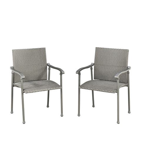 Umbria Pair of Arm Chairs by Home Styles