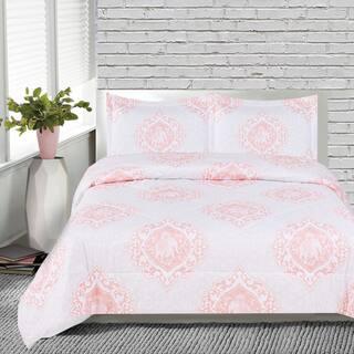 Lauren Taylor Indian Elephant 3-piece Printed Comforter Set|https://ak1.ostkcdn.com/images/products/14308469/P20890435.jpg?impolicy=medium