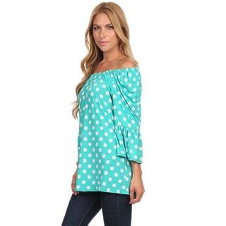 Women's Polka-dot Convertible Tunic