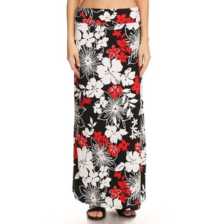 Women's Abstract Maxi Skirt