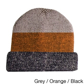 Striped Cuffed Winter Beanies
