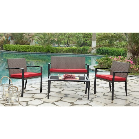DG Casa Capistrano Loveseat, Two Chairs and Table Set
